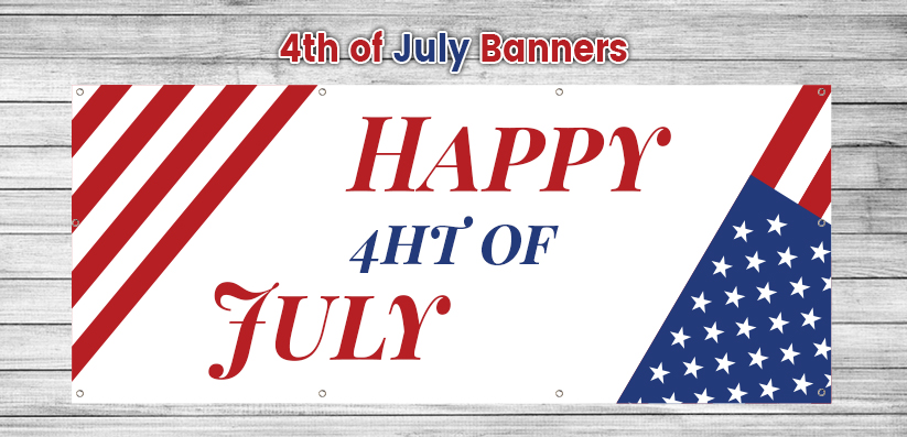 4th Of July Banners - American Independence Day Banners