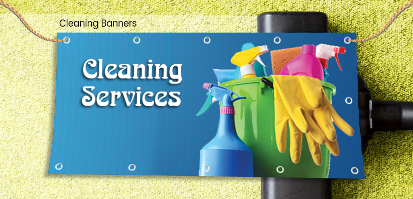Cleaning Industry Banners