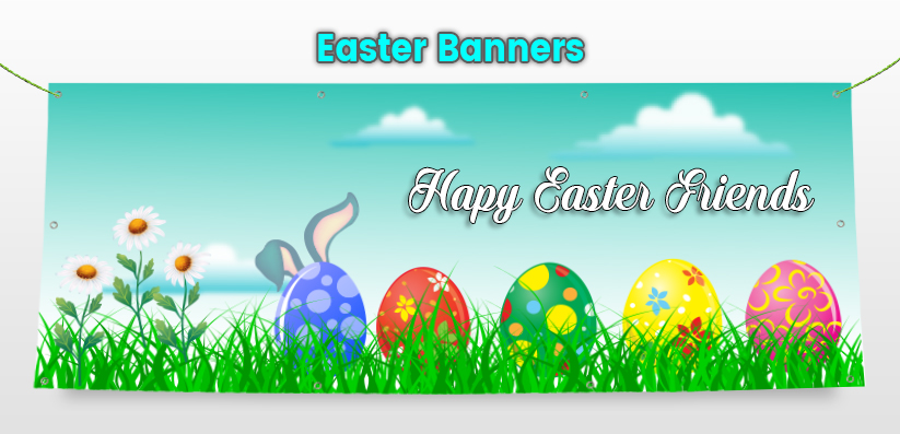 Easter Celebration Holiday Banners