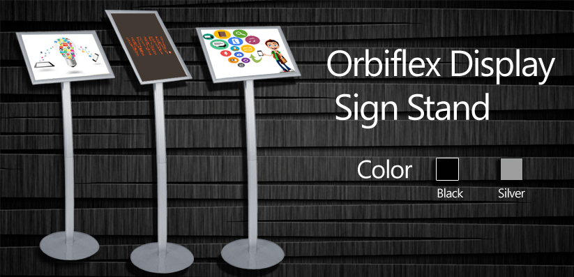Orbiflex Display Sign Stand