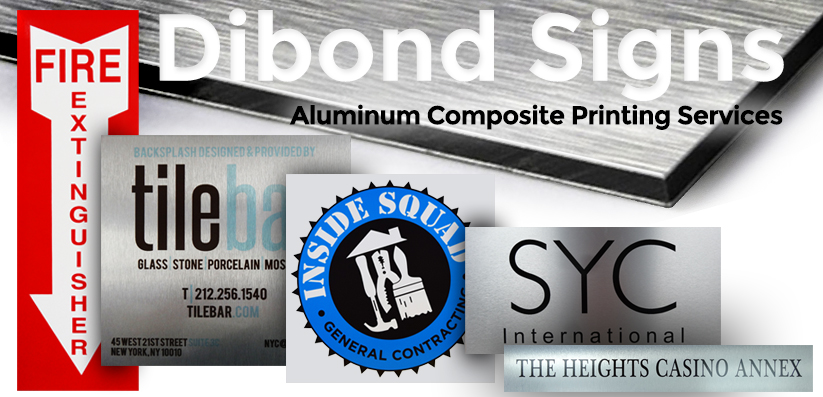 Dibond Signs Nyc Dibond Aluminum Signs Banners Expo