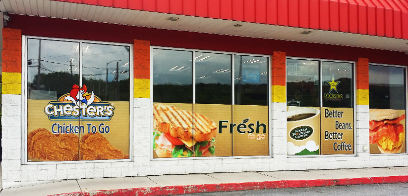 Custom Window Decals Frosted Vinyl Gold Leaf Window Decals NYC - Window decals for business atlanta